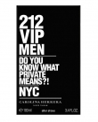 Carolina Herrera 212 VIP Men Aftershave Lotion
