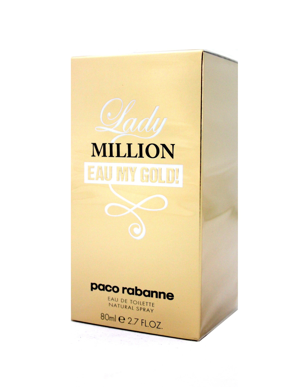 paco rabanne lady million eau my gold eau de toilette edt. Black Bedroom Furniture Sets. Home Design Ideas