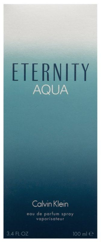 Eternity Aqua Eau De Parfum 50 Ml Calvin Klein My Trendy Lady
