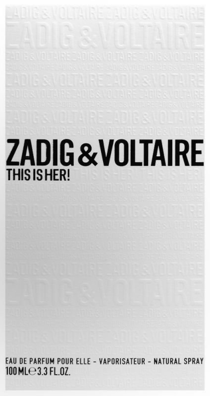 8a712845876 This Is Her ⋅ Eau de Parfum 100 ml ⋅ Zadig   Voltaire ≡ MY TRENDY ...